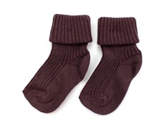 MP Socks cotton brown purple (2-Pack)