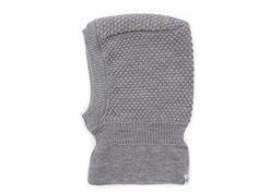MP balaclava Oslo gray melange wool/cotton