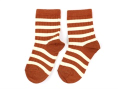 MP socks wool bombay brown stripes (2-Pack)
