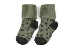 MP/Soft Gallery socks cotton green leospot (2-Pack)