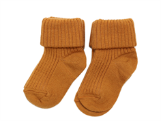 MP socks wool dark honey (2-Pack)