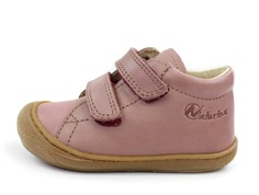 Naturino shoes Cocoon rosa antico with velcro