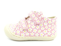Naturino shoes Cocoon rosa bianco with velcro