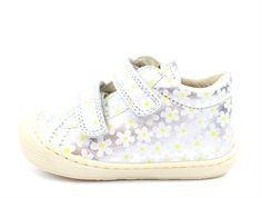 Naturino shoes Cocoon argento bianco with velcro