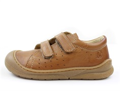 Naturino shoes Gabby cognac with velcro