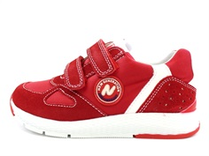 Naturino Isao shoe rosso bianco with velcro