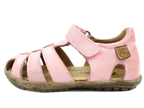 Naturino See sandal pink with velcro