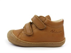 Naturino shoes Cocoon cognac with velcro