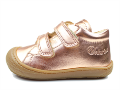 Naturino shoes pink/copper with velcro