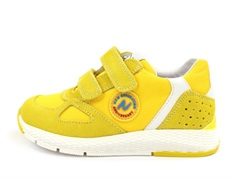 Naturino Isao shoes giallo bianco with velcro