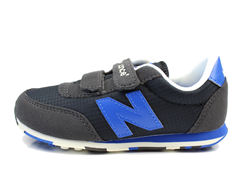 New Balance sneaker dark blue/blue with velcro