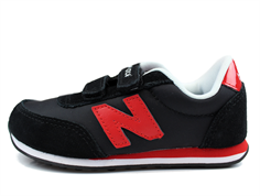 New Balance sneaker black/red with velcro