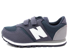 New Balance sneaker blue/gray/white with velcro