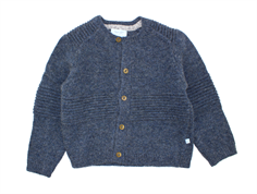 Noa Noa Miniature cardigan China Blue wool/rayon/cotton