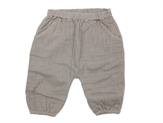 Noa Noa Miniature Blesan pants steeple gray cotton lining