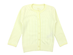 Noa Noa Miniature Doria cardigan tender yellow