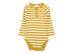 Noa Noa Miniature body rib chai tea stripes
