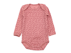 Noa Noa Miniature body printed ash rose wool