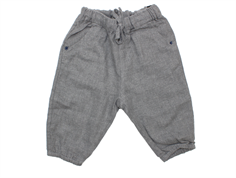 Noa Noa Miniature pants gray melange cotton lining