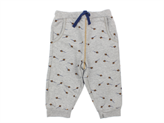 Noa Noa Miniature pants gray melange kite