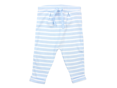 Noa Noa Miniature pants rib striped faded denim