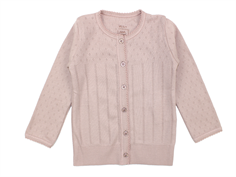 Noa Noa Miniature Doria cardigan strawberry pink