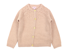 Noa Noa Miniature cardigan Cameo Rose wool/rayon/cotton