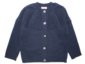 Noa Noa Miniature cardigan wool dress blue