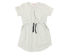 Noa Noa Miniature dress stripes chalk