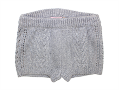 Noa Noa Miniature shorts wool gray melange