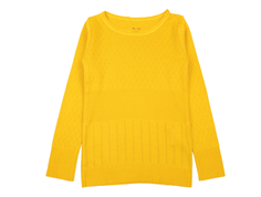 Noa Noa Miniature t-shirt Doria golden yellow