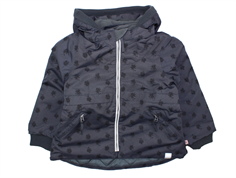 Noa Noa Miniature winter jacket ink flowers