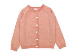 Noa Noa Miniature cardigan canyon clay glitter