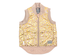 MarMar Oby Thermal waistcoat dusty powder leo gold