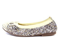 Petit by Sofie Schnoor ballerina gold with glitter