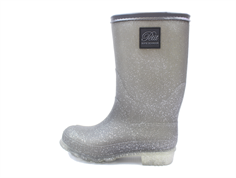 Petit by Sofie Schnoor winter rubber boot gray glitter
