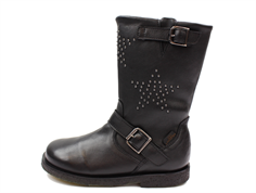 Petit by Sofie Schnoor winter boot black with stars and TEX