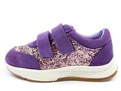 Petit by Sofie Schnoor sneaker purple with sparkles
