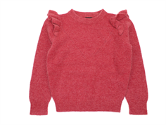 Petit by Sofie Schnoor knit earth red nylon/wool