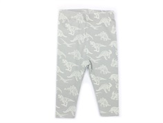 Petit by Sofie Schnoor leggings dusty mint dino