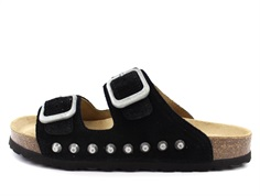 Petit by Sofie Schnoor sandal black suede with studs