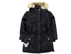 Wheat winter coat Parka Elizabeth Black