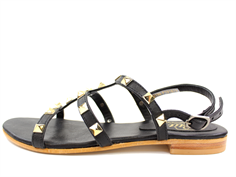 Petit by Sofie Schnoor sandal black with gold studs