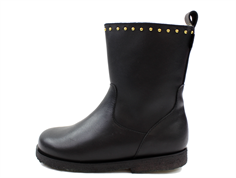 Petit by Sofie Schnoor winter boot black with studs and TEX