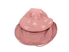 Petit by Sofie Schnoor bathing hat dusty rose insect