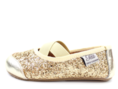 Petit by Sofie Schnoor ballerina champagne with glitter