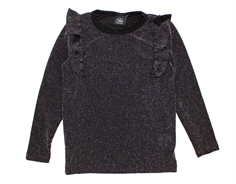 Petit by Sofie Schnoor blouse black glitter