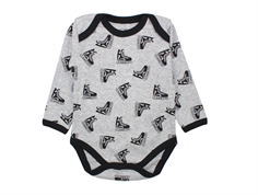 Petit by Sofie Schnoor body with skates gray melange