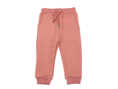 Petit by Sofie Schnoor pants quilt dusty rose glitter