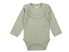 Petit by Sofie Schnoor body dusty green with frill